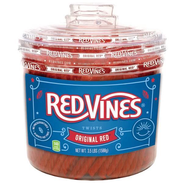 Original Red Licorice Twists Jar