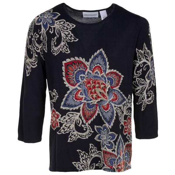 Petite Floral Sweater