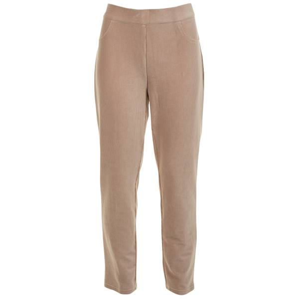 Women's Proportioned Knit Corduroy Pants