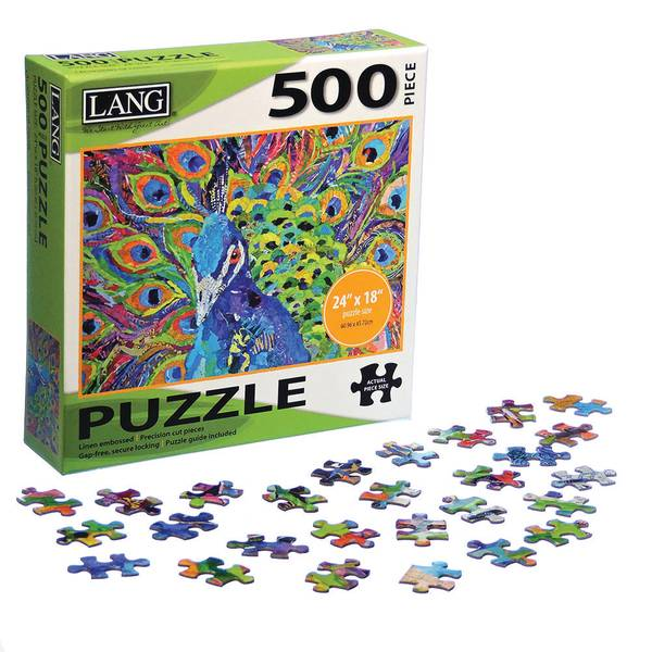 500-Piece Cacophony of Color Jigsaw Puzzle