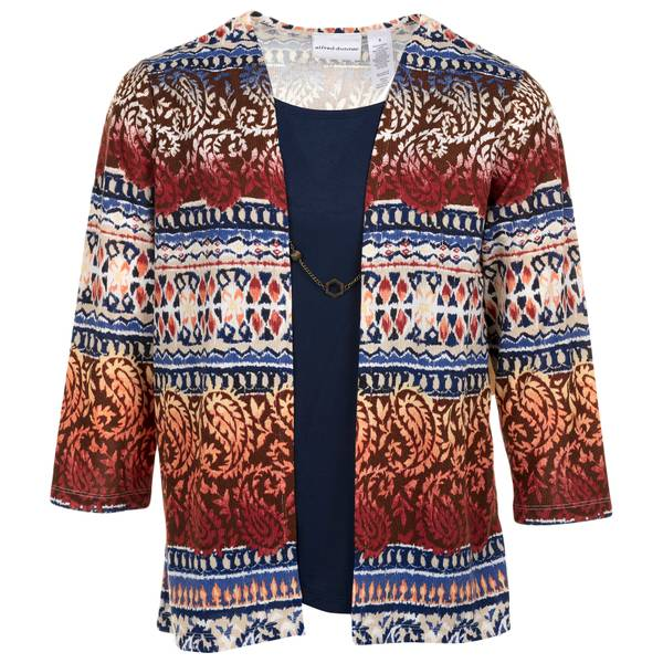 Women's Ethnic Biadere Two For One Sweater