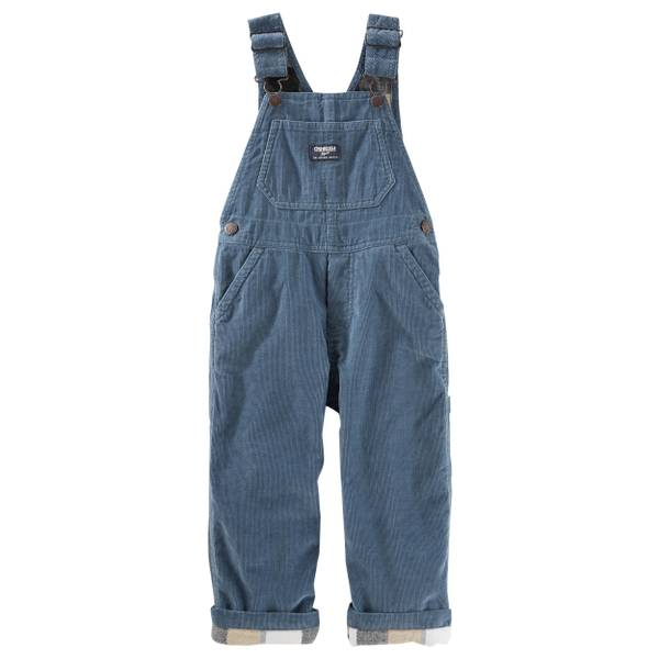 Baby Boy's Blue Cotton Denim Overalls