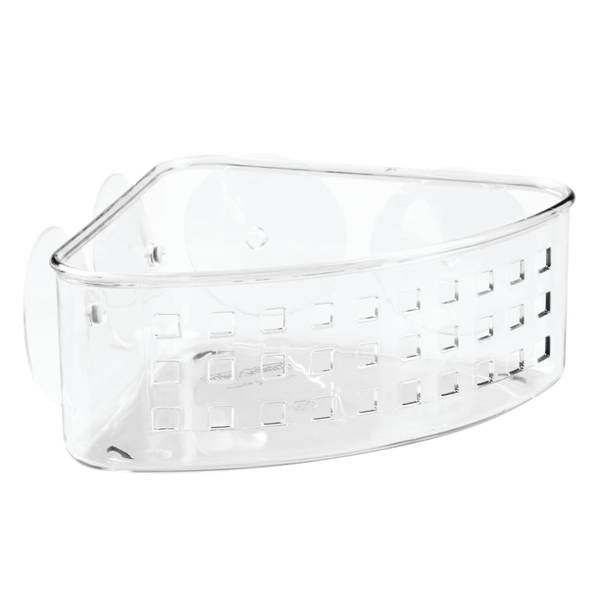 Suction Bathroom Shower Corner Basket
