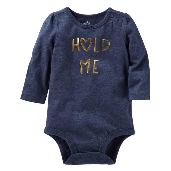 Infant Girls' Long Sleeve Bodysuit
