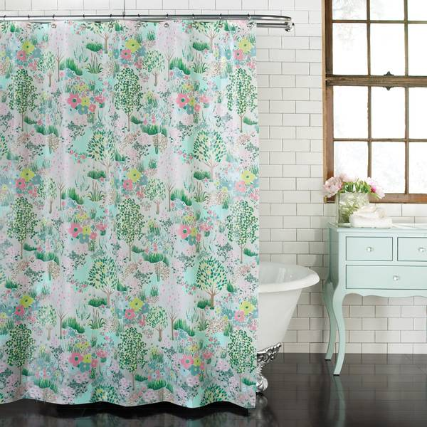 Dandy Land Peva Shower Curtain