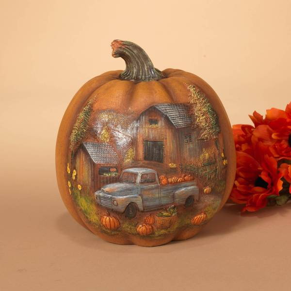 Resin Harvest Pumpkin