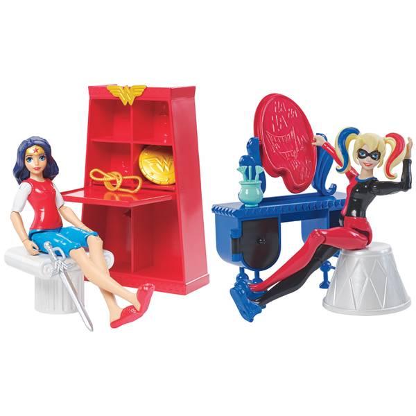Super Hero Girls Action Figure Room Assortment