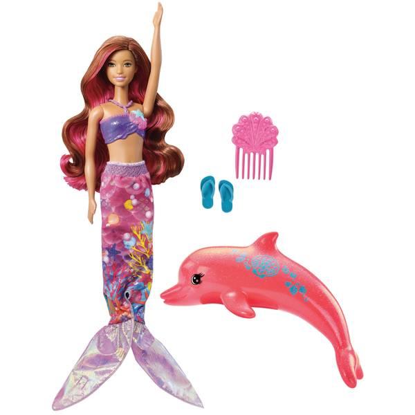 Dolphin Magic Transforming Mermaid Doll