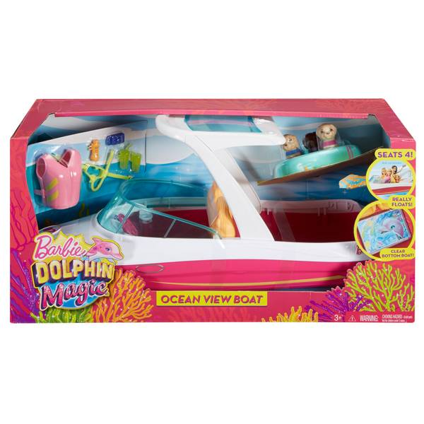 Dolphin Magic Ocean View Boat Playset