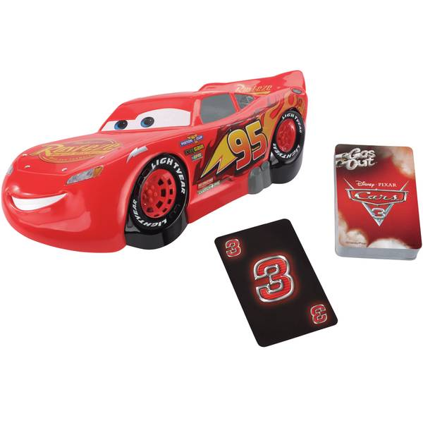 Gas Out Cars Lightning McQueen Card Game
