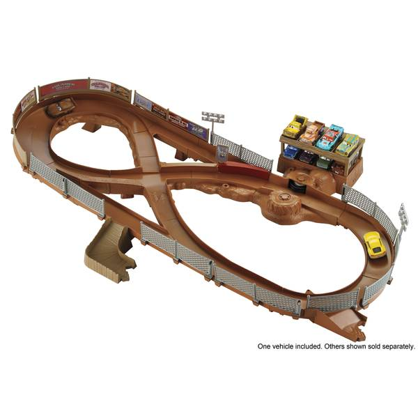 Pixar Cars 3 Thunder Hollow Criss-Cross Track Set
