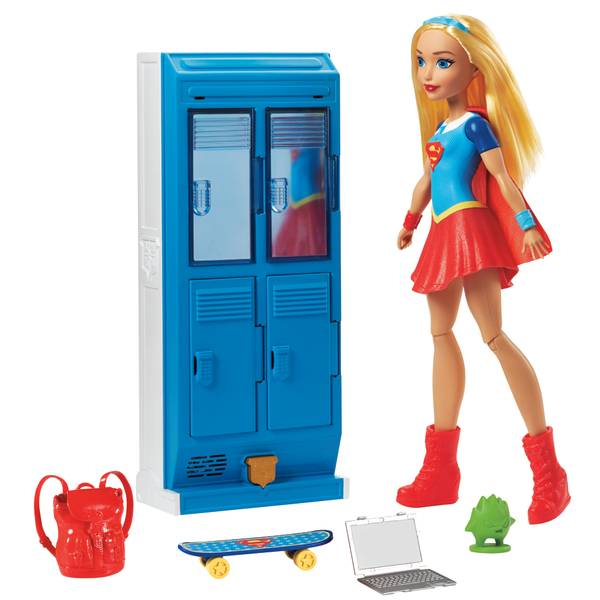 Super Hero Girls Supergirl Playset