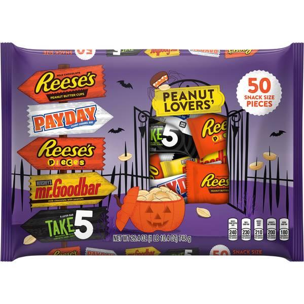 Peanut Lovers Snack Size Assortment