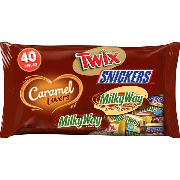 40ct Caramel Lovers Variety Mix