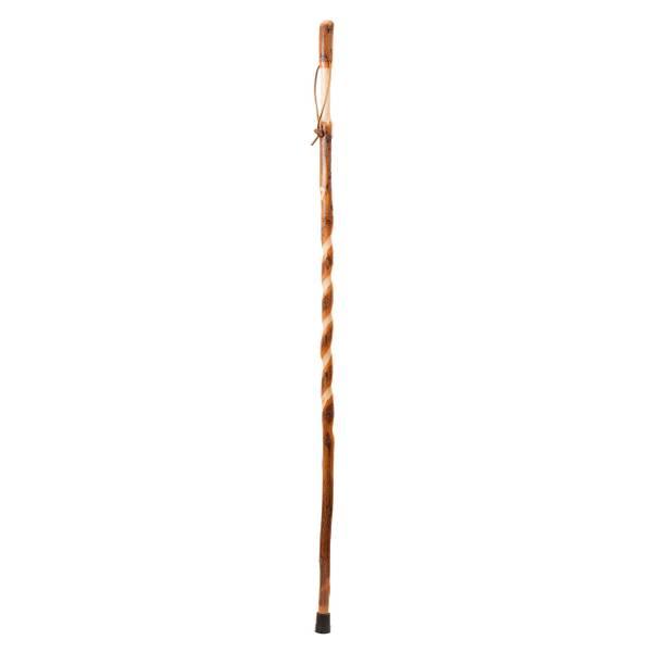 "55"" Twisted Hickory Walking Stick"