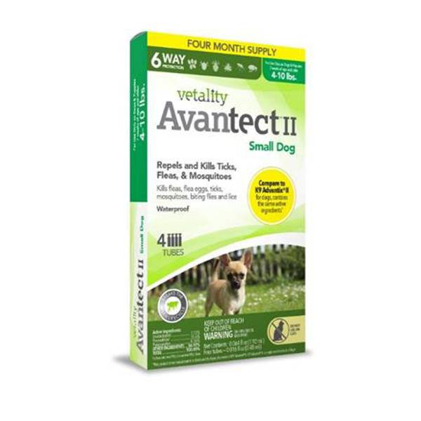 Avantect II for Small Dogs
