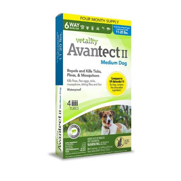 Avantect II for Medium Dogs
