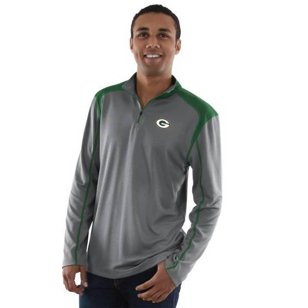 Men's Green Bay Packers Classic Victory 1/2 Zip Fleece