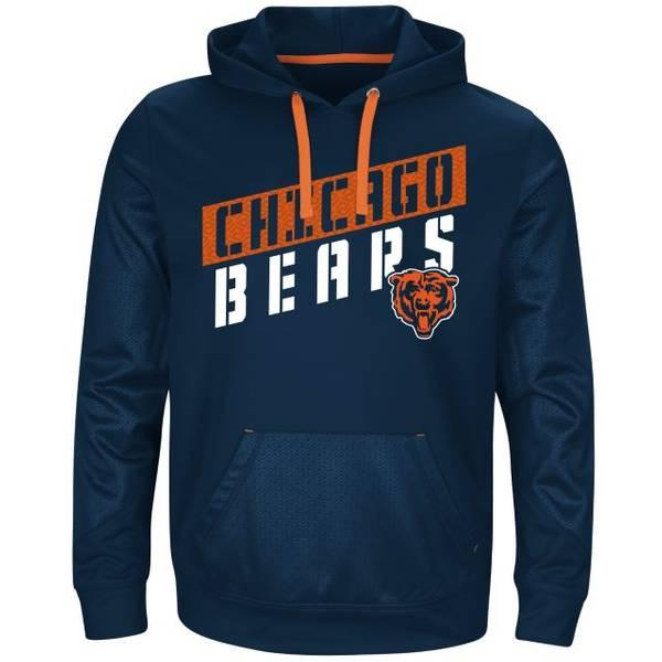 Men's Chicago Bears Stunt Fleece Hoodie