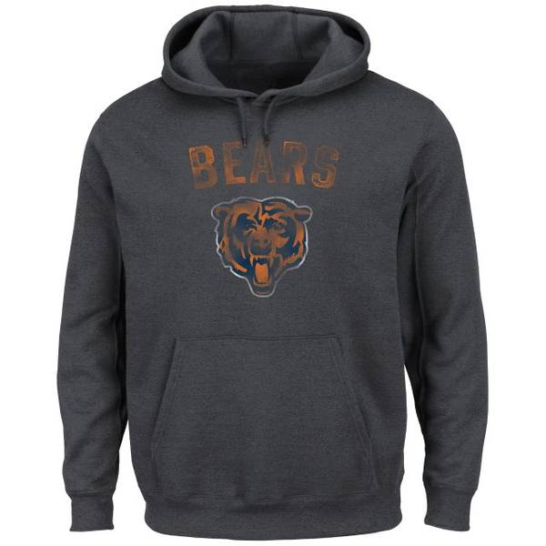 Men's Chicago Bears Only Option Fleece Hoodie