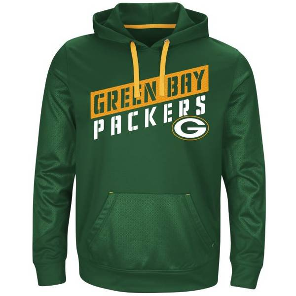 Men's Green Bay Packers Stunt Fleece Hoodie