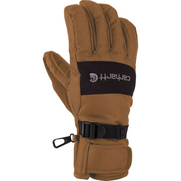 Men's Brown & Black WB Insulated Gloves