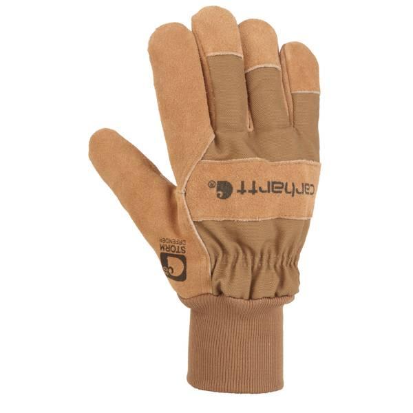 Men's Brown WB Suede Work Gloves