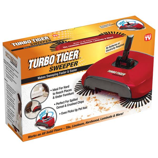 Turbo Tiger Sweeper Broom