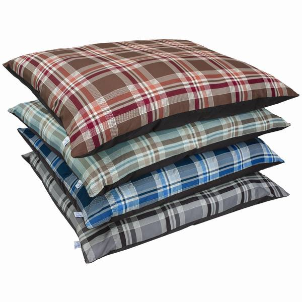 "35"" x 44"" Plaid Pillow Bed Assortment"