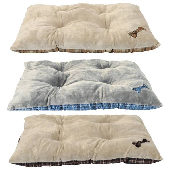 "30"" x 40"" Tufted Super Plush Dog Bed Assortment"
