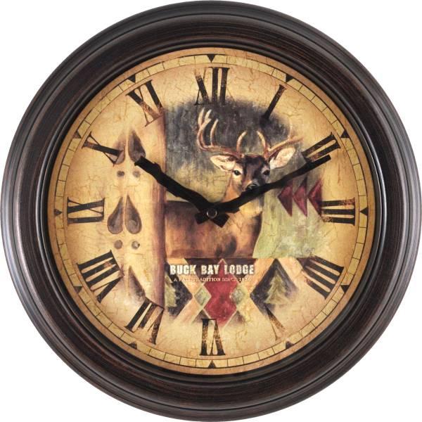 Bronze Buck Wall Clock