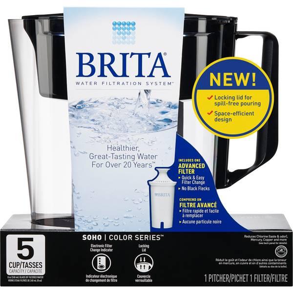 Brita Soho Pitcher Water Filtration System