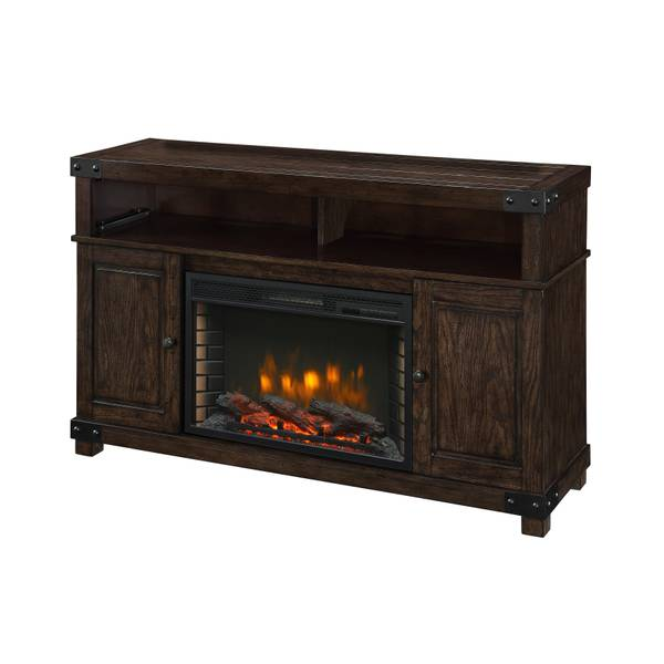 pleasant hearth hudson media electric fireplace. Black Bedroom Furniture Sets. Home Design Ideas
