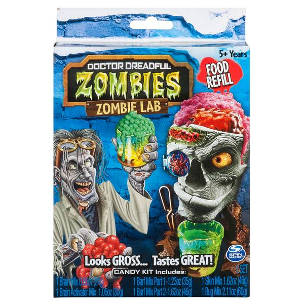 Zombie Lab Food Refill