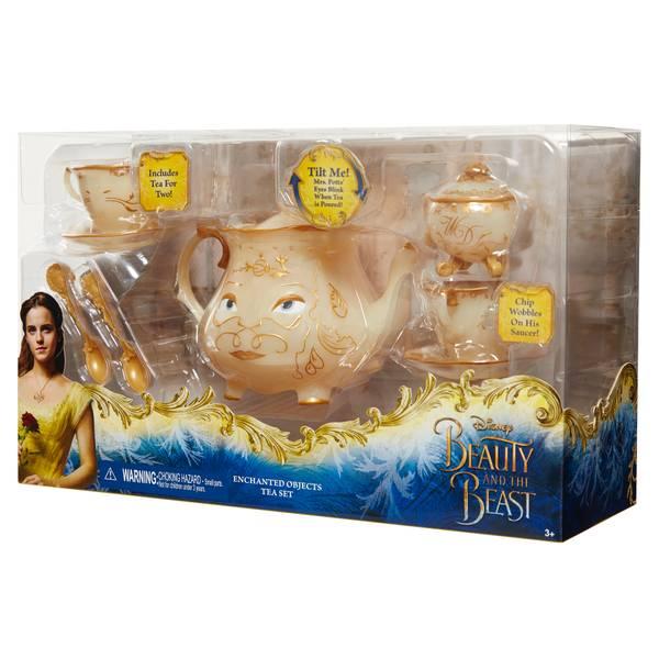 Beauty & Beast Enchanted Objects Tea Set
