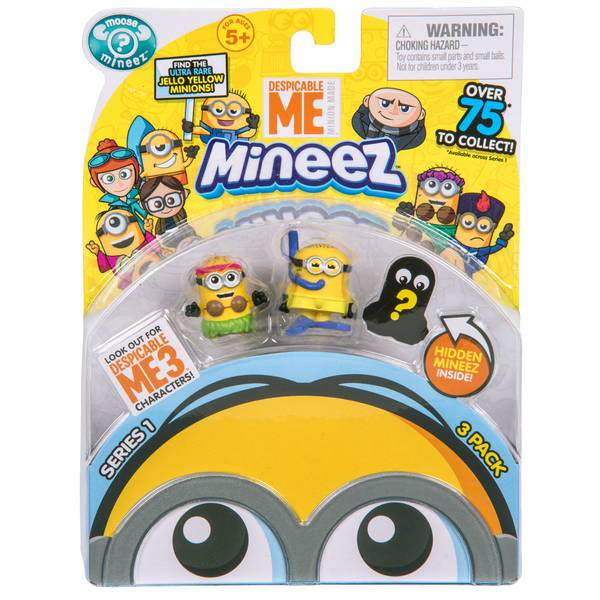 Despicable Me 3 Character Pack Assortment