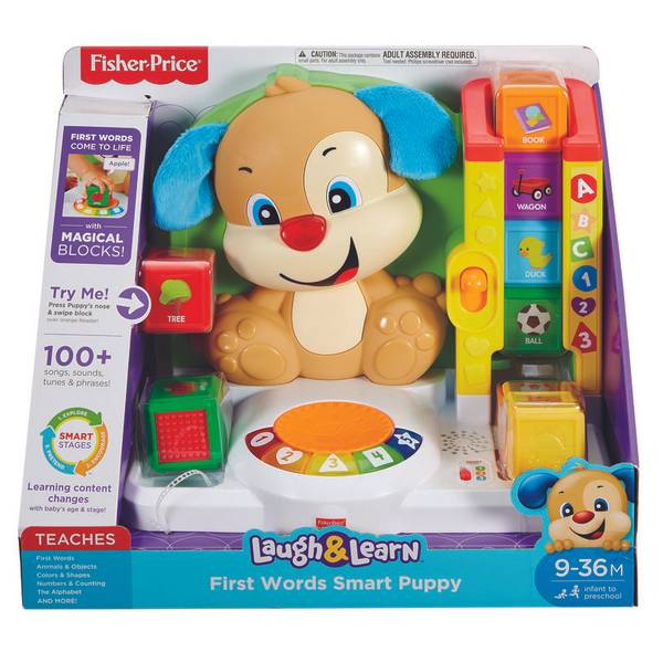Laugh & Learn First Words Smart Puppy