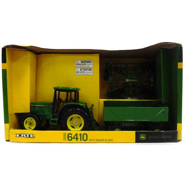 1:32 John Deere 6410 Tractor Set
