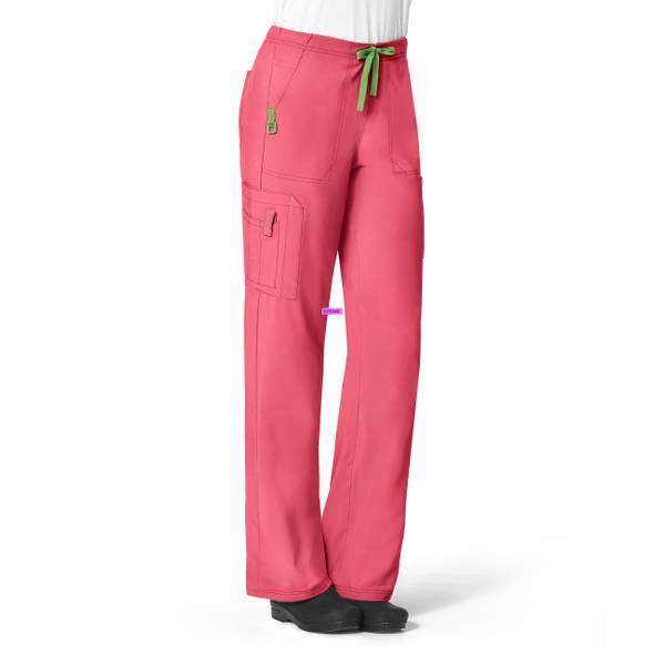 Misses Crossflex Cargo Scrubs Pants