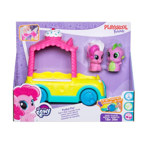 My Little Pony Pinkie Pie Roll 'N Ring Cupcake Truck