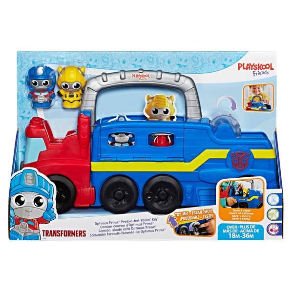 Transformers Peek-A-Bot Rollin' Rig