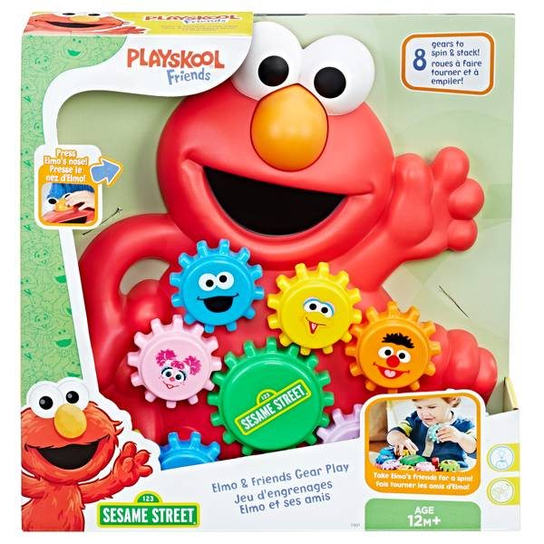 Elmo and Friends Gear Play