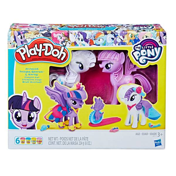 My Little Pony Princess Twilight Sparkle & Rarity Fashion Fun