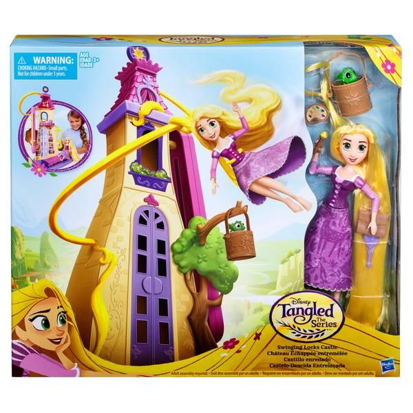 Princess Tangled Swinging Locks Castle