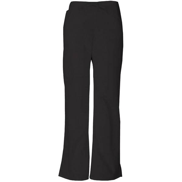 Women's Drawstring Cargo Scrub Pants