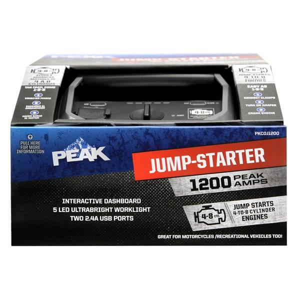 1200 Amp Jump Starter