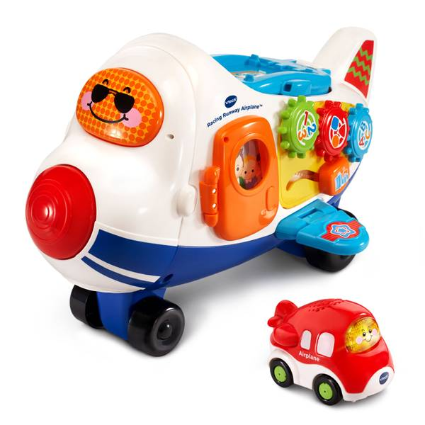 GoGo Smart Wheels Racing Runway Airplane
