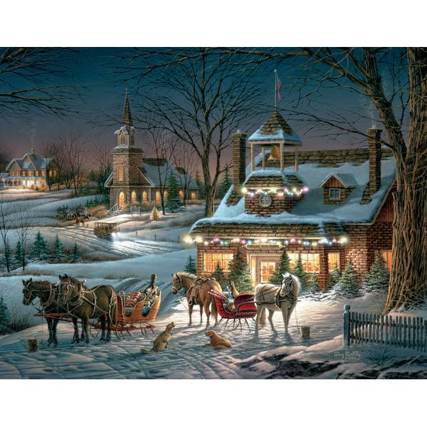 Evening Rehearsal Assorted Boxed Christmas Cards