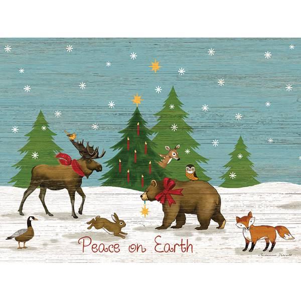 Peace On Earth Classic Christmas Cards