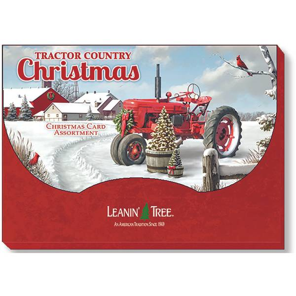 Tractor Country Christmas Cards